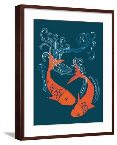 Tranquil Pond--Framed Art Print