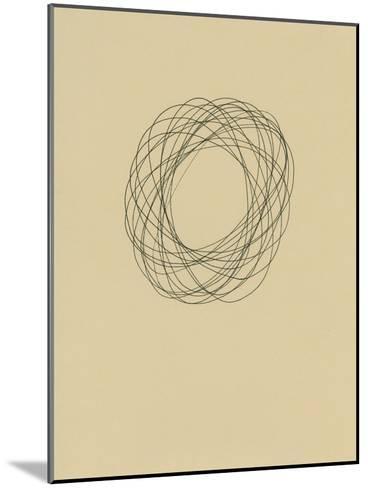 Circle 8-Jaime Derringer-Mounted Giclee Print