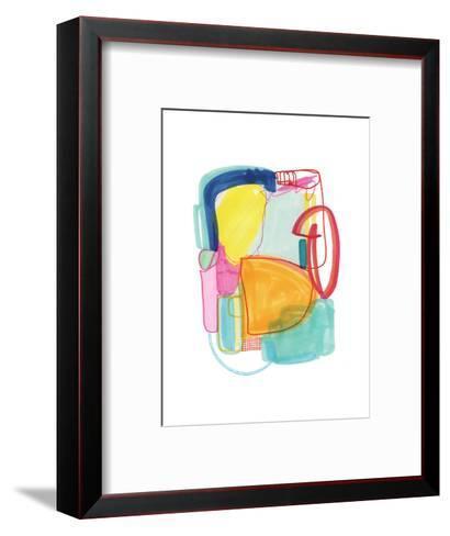 Abstract Drawing 2-Jaime Derringer-Framed Art Print
