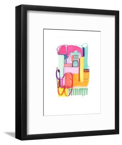 Abstract Drawing 4-Jaime Derringer-Framed Art Print