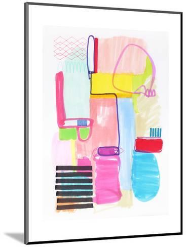 Abstract Drawing 10-Jaime Derringer-Mounted Giclee Print