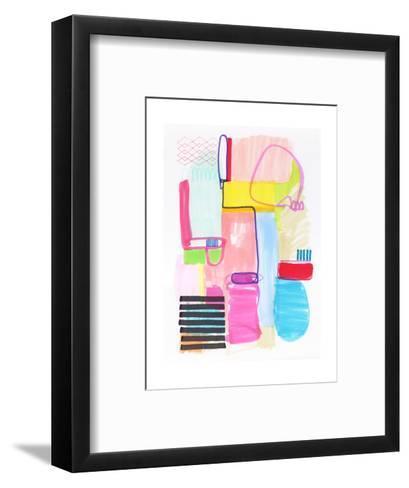 Abstract Drawing 10-Jaime Derringer-Framed Art Print