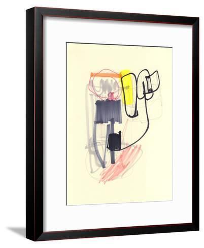 Abstract Drawing 11-Jaime Derringer-Framed Art Print