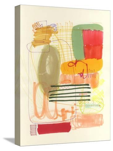 Abstract Drawing 12-Jaime Derringer-Stretched Canvas Print