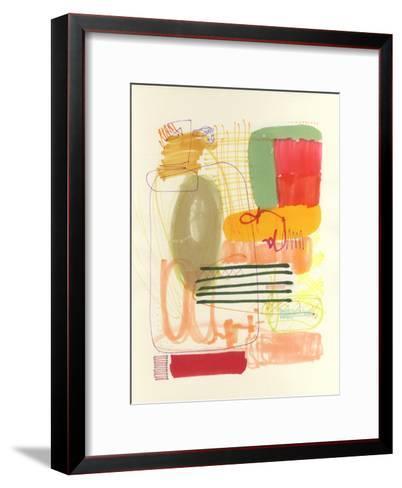 Abstract Drawing 12-Jaime Derringer-Framed Art Print