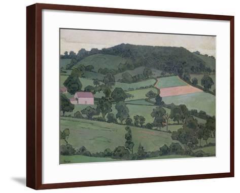 Rosemary La Vallee, 1916-Robert Polhill Bevan-Framed Art Print