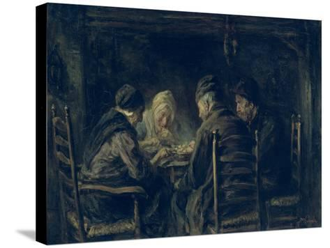 The Potato Eaters, 1902-Jozef Israels-Stretched Canvas Print