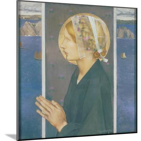A Madonna of Brittany, 1913-Edward Reginald Frampton-Mounted Giclee Print