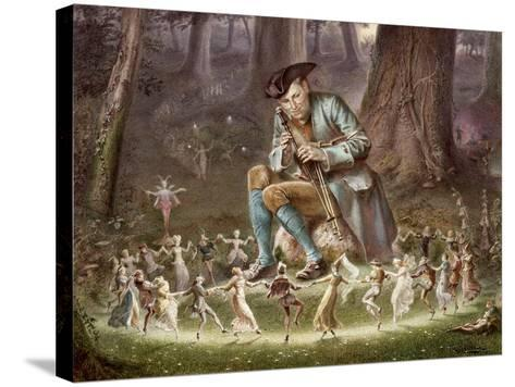 Fairy Dance, 1882-William Holmes Sullivan-Stretched Canvas Print