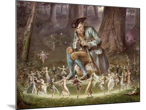 Fairy Dance, 1882-William Holmes Sullivan-Mounted Giclee Print