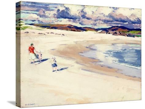 On the Shore, Iona, c.1920s-Francis Campbell Boileau Cadell-Stretched Canvas Print