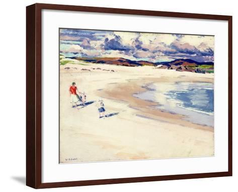 On the Shore, Iona, c.1920s-Francis Campbell Boileau Cadell-Framed Art Print