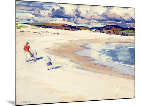 On the Shore, Iona, c.1920s-Francis Campbell Boileau Cadell-Mounted Giclee Print