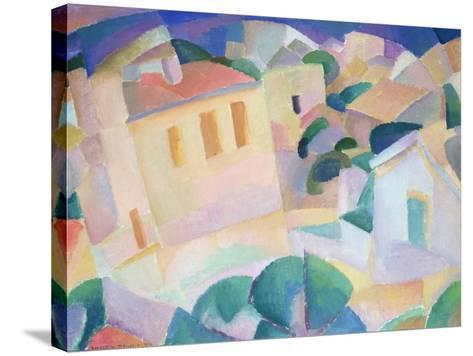 Terrino, Mallorca, 1914-Leo Gestel-Stretched Canvas Print