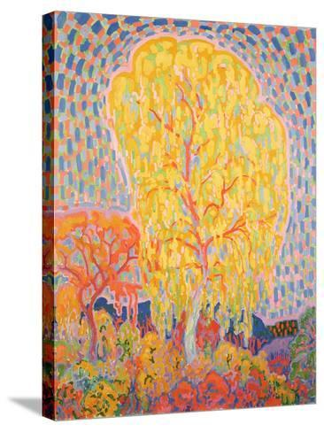 Autumn Tree-Leo Gestel-Stretched Canvas Print