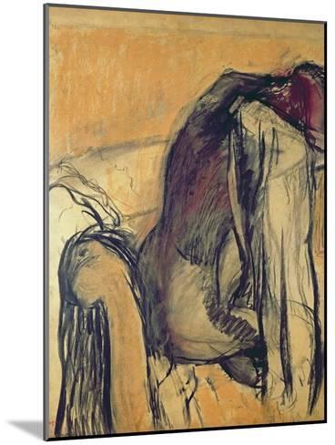 After the Bath, 1905-7-Edgar Degas-Mounted Giclee Print
