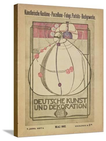 Deutsche Kunst Und Dekoration, May 1902-Margaret MacDonald-Stretched Canvas Print