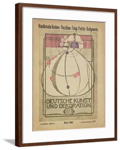 Deutsche Kunst Und Dekoration, May 1902-Margaret MacDonald-Framed Art Print