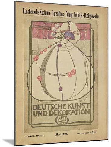 Deutsche Kunst Und Dekoration, May 1902-Margaret MacDonald-Mounted Giclee Print