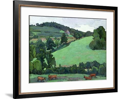Across Bolham Water-Robert Polhill Bevan-Framed Art Print