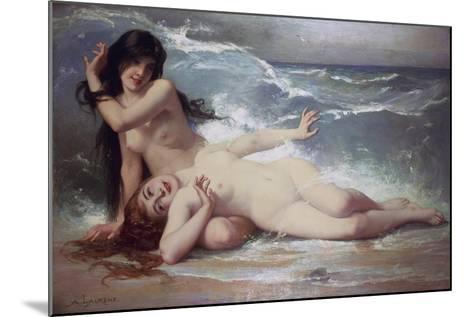 Catching Waves-Paul Albert Laurens-Mounted Giclee Print