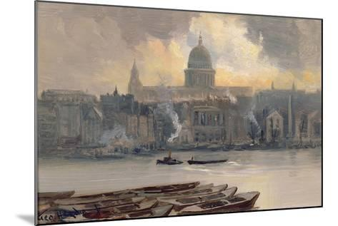 St.Paul's from the River-George Hyde Pownall-Mounted Giclee Print