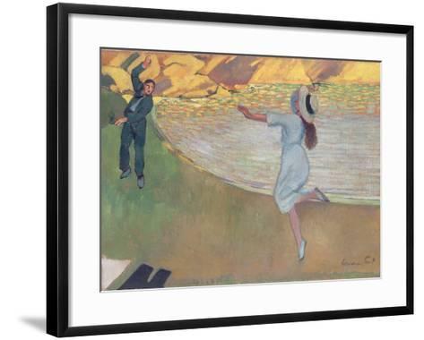 The Lovers, c.1900- Hermann-Paul-Framed Art Print