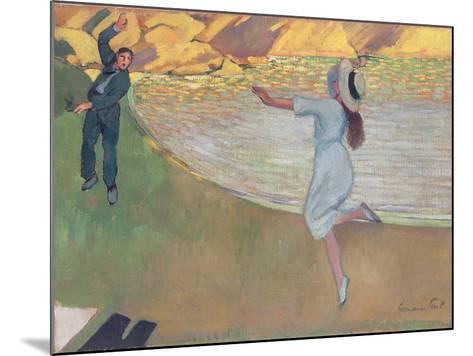 The Lovers, c.1900- Hermann-Paul-Mounted Giclee Print