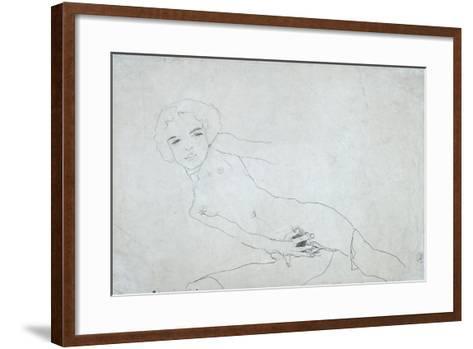 Nude, 1911-Egon Schiele-Framed Art Print
