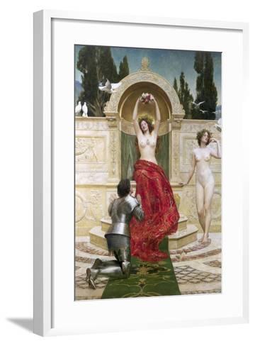 In the Venusburg (Tannhauser), 1901-John Collier-Framed Art Print