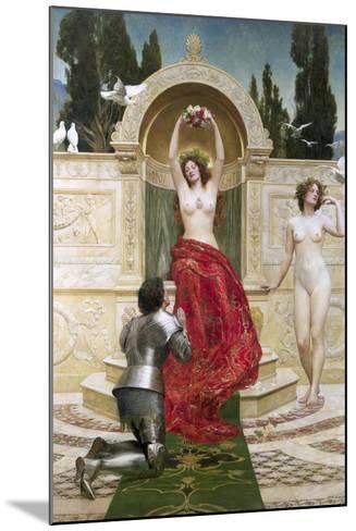 In the Venusburg (Tannhauser), 1901-John Collier-Mounted Giclee Print