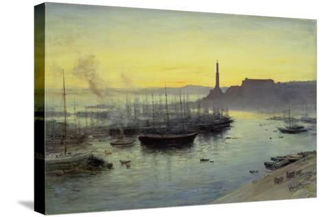 Genoa, 1904-John MacWhirter-Stretched Canvas Print