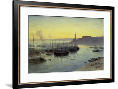 Genoa, 1904-John MacWhirter-Framed Art Print