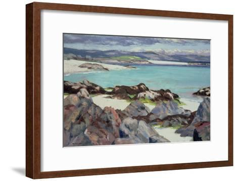 Iona, the East Bay, 1928-Francis Campbell Boileau Cadell-Framed Art Print
