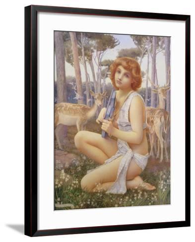 The Young Orpheus, c.1901-Henry Ryland-Framed Art Print