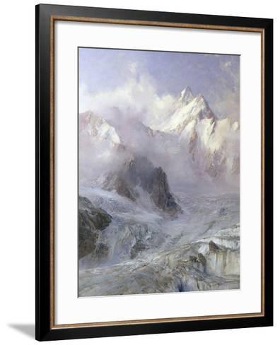 The Alps, c.1906-Edward Theodore Compton-Framed Art Print