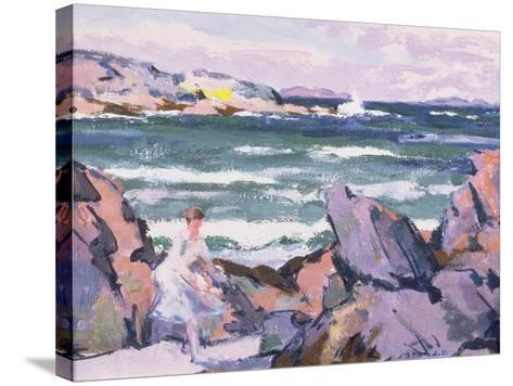 North Wind, Iona (The Bather)-Francis Campbell Boileau Cadell-Stretched Canvas Print