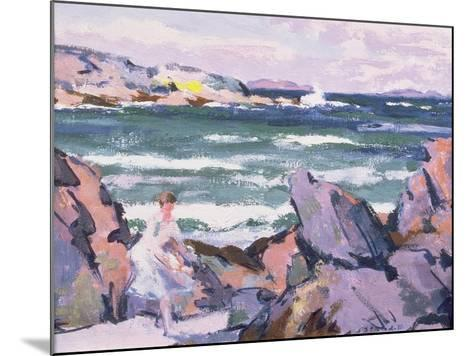 North Wind, Iona (The Bather)-Francis Campbell Boileau Cadell-Mounted Giclee Print
