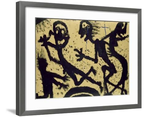 From the Planet to the Star, 1938-Louis Soutter-Framed Art Print