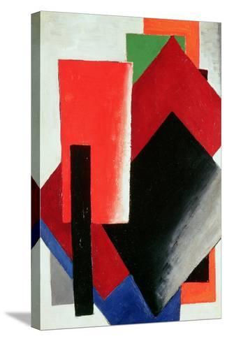 Architectonic Composition, 1918-Lyubov Sergeevna Popova-Stretched Canvas Print