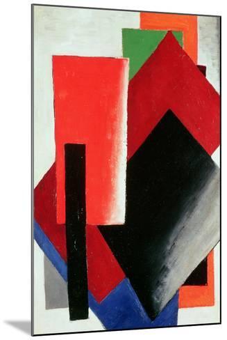 Architectonic Composition, 1918-Lyubov Sergeevna Popova-Mounted Giclee Print
