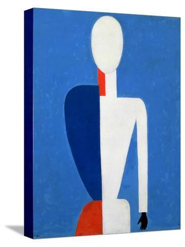 Torso, Transformation to a New Shape, 1928-32-Kasimir Malevich-Stretched Canvas Print
