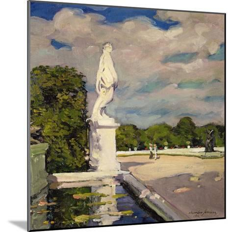 On the Terrace, Versailles, 1906-Alexander Jamieson-Mounted Giclee Print