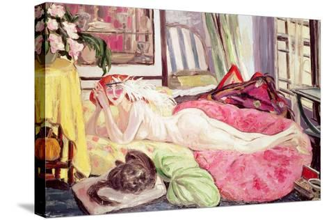 The Bohemian, 1921-Jacqueline Marval-Stretched Canvas Print
