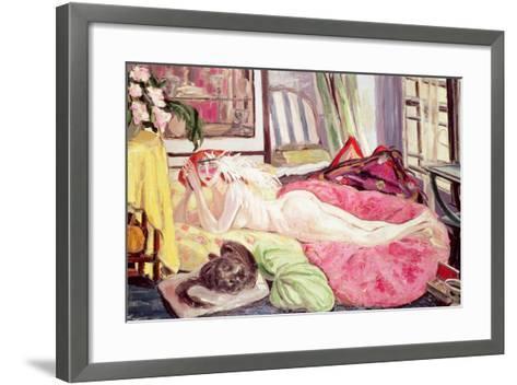 The Bohemian, 1921-Jacqueline Marval-Framed Art Print