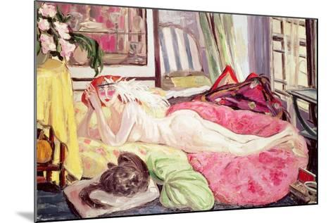 The Bohemian, 1921-Jacqueline Marval-Mounted Giclee Print