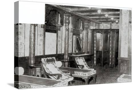 The Turkish Bath Cooling Room on Board the Titanic, 1912--Stretched Canvas Print