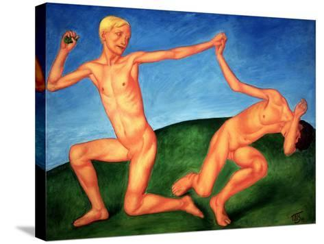 The Playing Boys, 1911-Kuzma Sergeevich Petrov-Vodkin-Stretched Canvas Print