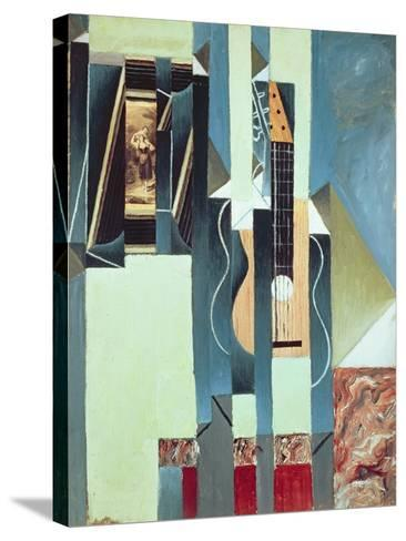Untitled-Juan Gris-Stretched Canvas Print