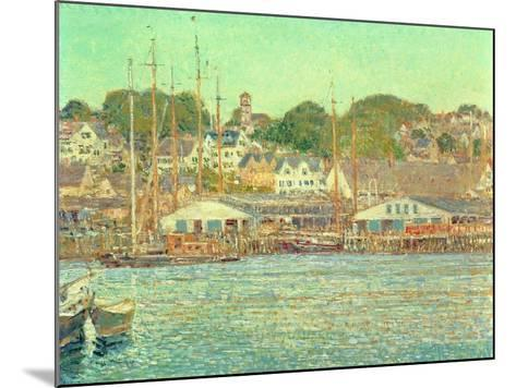 Gloucester Harbour, 1917-Childe Hassam-Mounted Giclee Print